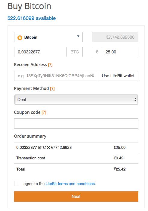 LiteBit Zahlung Guide