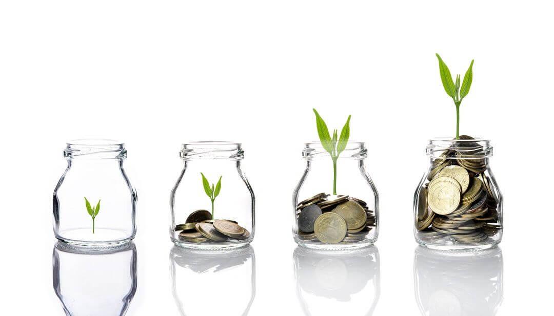 Investment-Entwicklung