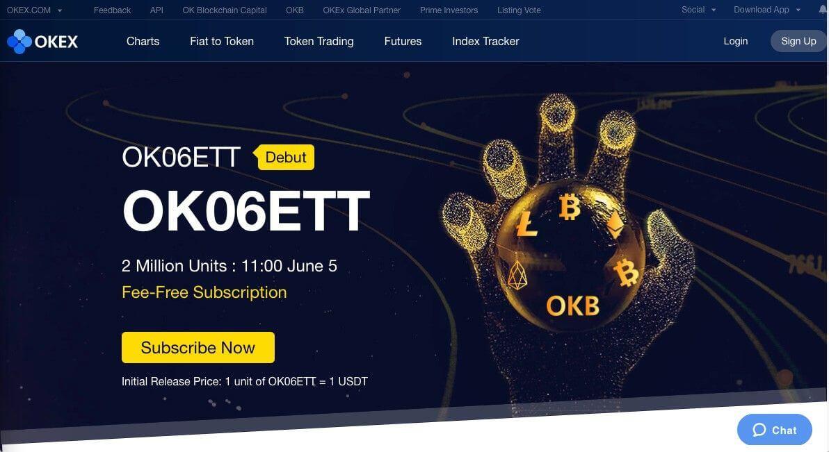 OK06ETT ETF auf Kryptowährungen investieren